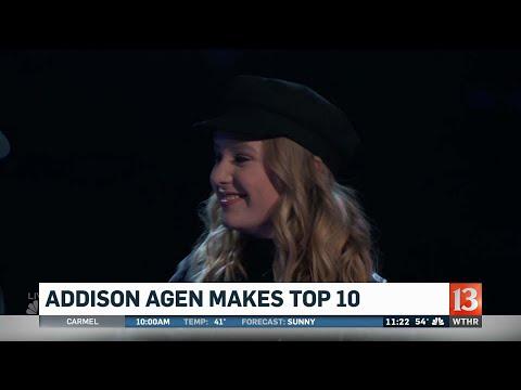 Addison Agen makes The Voice Top 10