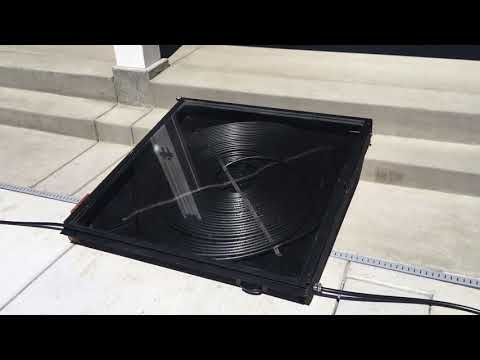 D.I.Y Solar pool heater – heating and maintaining your pool temp using the sun – $125 investment.