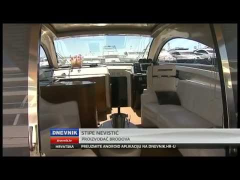 Pearl Sea Yachts on Croatian TV, Croatian yacht builders in Marina Lav, Split