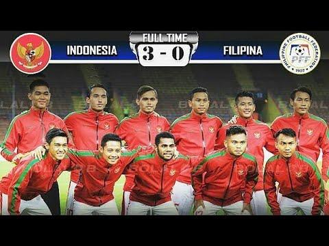 Full Highlights Indonesia U22 vs Filipina U22 Sepak Bola ...