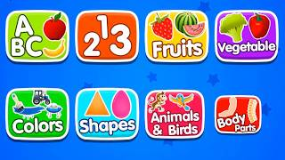 Kids Computer - Learn And Play | Free Educational Game