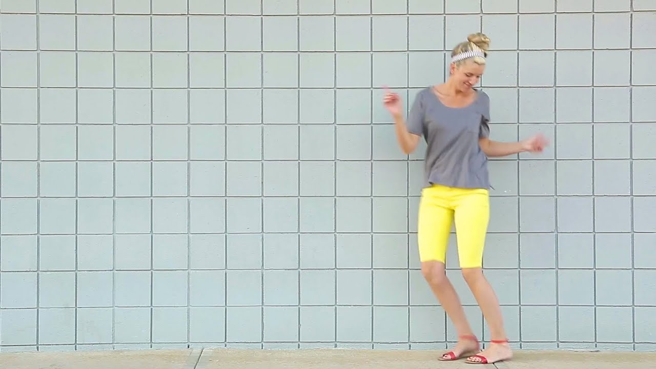 How to turn Pants into SHORTS   and How to Hem Pants, Shirts, Dresses, and  Skirts