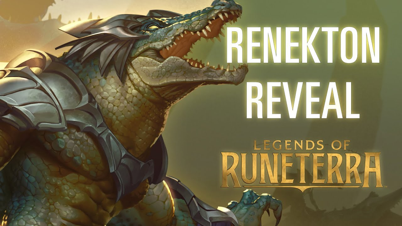 Renekton Reveal | New Champion - Legends of Runeterra - YouTube