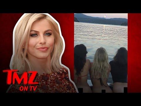 Julianne Hough and Nina Dobrev Lose Their Bottoms! (TMZ TV)