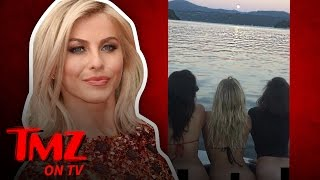 Julianne Hough and Nina Dobrev Lose Their Bottoms! | TMZ TV