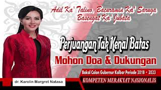 Video dr.KAROLIN MARGRET NATASA, CALON GUBERNUR KALBAR 2018-2023 download MP3, 3GP, MP4, WEBM, AVI, FLV November 2017
