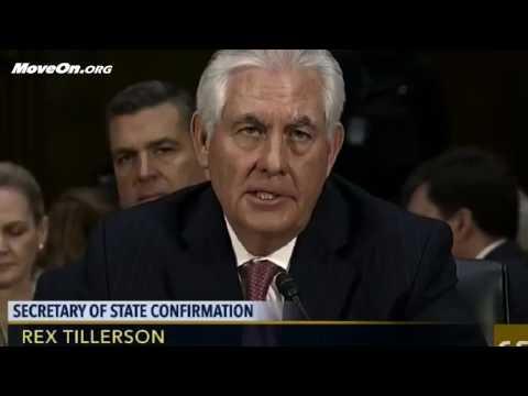 Stop Rex Tillerson