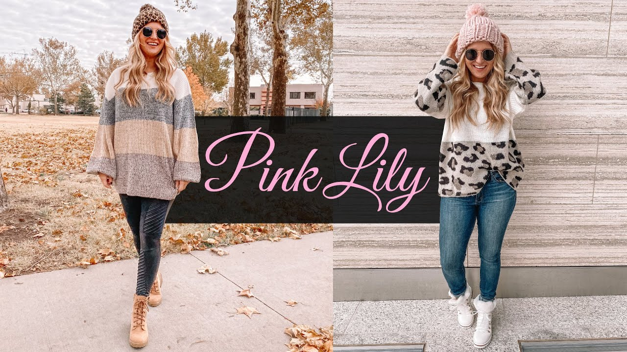 [VIDEO] - Pink Lily Winter Try On Haul | Winter Outfit Ideas 2019 2