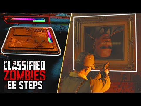 CLASSIFIED MAIN EASTER EGG STEPS - THE BEST LEADS! (Black Ops 4 Zombies)