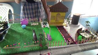 Rain Water Harvesting Model || Science Exhibition ||