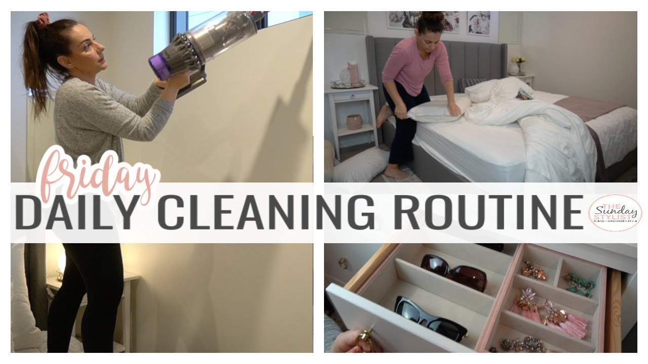 CLEAN YOUR BEDROOM FAST!!! 30 MINUTE SPEED CLEAN WITH ME BEDROOM ZONE CLEANING || THE SUNDAY STYLIST