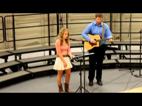 Riann's solo at KCHS variety