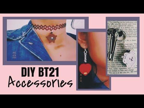 DIY BT21 Accessories