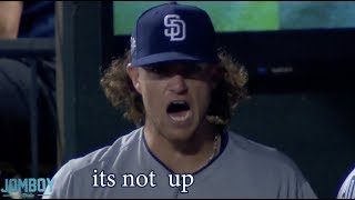 Padres pitcher Chris Paddack got a little mad, a breakdown