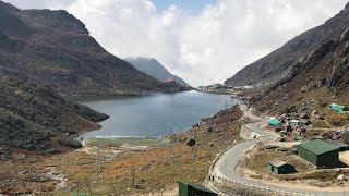 High altitude Tsomgo Lake in East Sikkim India