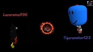 Roblox  Booga Booga Killing Tigeranator123 Again #2 1v1 And More!!!!