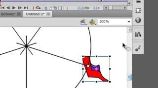 Flash Tutorial 78 Animated Ferris Wheel