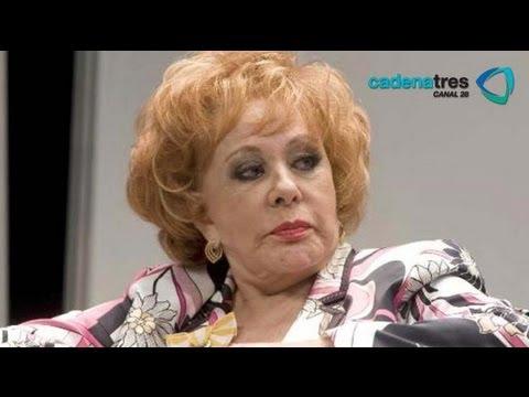 Silvia Pinal se niega a dar entrevistas y los medios de comunicación la persiguen