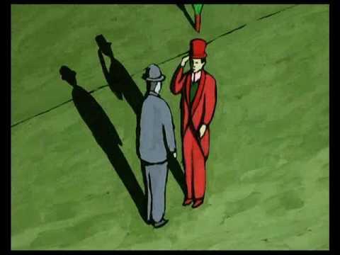 世界经典动画短片合集(九)L'homme sans ombre没有影子的人Georges Schwizgebel2004