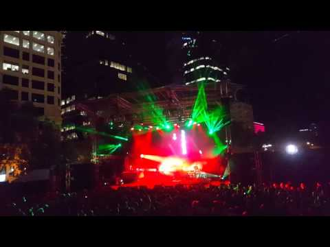 Leftfield Live Tour in Perth - Afrika Shox (PIAF Chevron Gardens 2016)