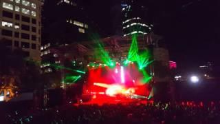 Leftfield Live Tour in Perth - Afrika Shox (PIAF Chevron Gardens 2016)