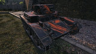 WoT T7 Combat Car 1117 DMG 10 frags 1255 EXP - Himmelsdorf
