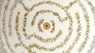 Colored Pencil Tutorial: Secret Garden Adult Coloring Book