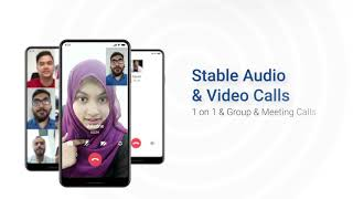 IMO video call and chat-Official introduction video screenshot 4