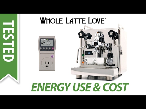 Tested: Espresso Machine Energy Usage and Cost