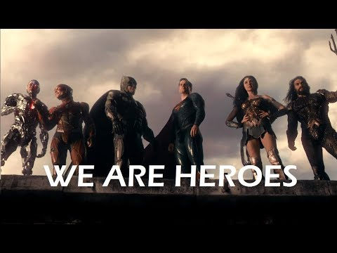 Justice League    We Are Heroes
