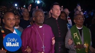 Bishop Michael Curry leads Reclaiming Jesus Demonstration - Daily Mail