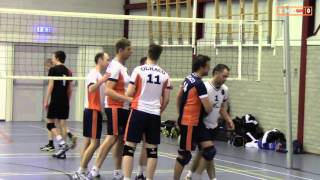 Volleybal Heren 1e klasse B: Olhaco H4 - Dovo/Hujades H1 [31-10-2015]