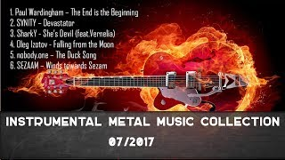 Best Melodic Instrumental Metal Collection - 07/2017