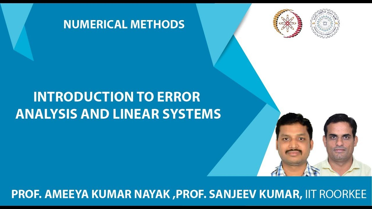 NPTEL :: Mathematics - NOC:Numerical methods