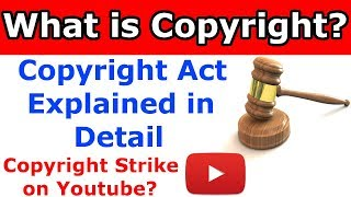 What is Copyright Policy in Hindi | What is Copyright Strike in Hindi thumbnail