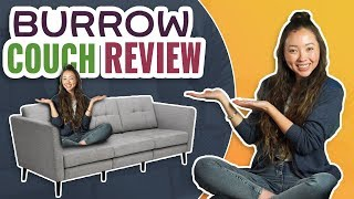 Burrow Couch Review   Best Online Sofa?! (2019 UPDATED)