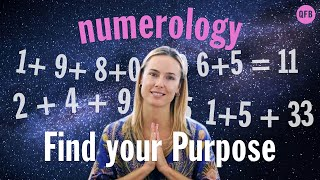 🔮CALCULATE YOUR LIFE PURPOSE NOW • Numerology For Beginners