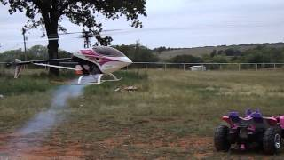 Thunder Tiger Raptor 50 R/C Helicopter w/ OS 46