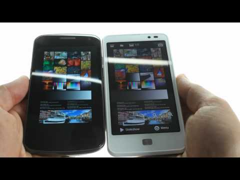 HD displays shootout: Samsung Galaxy Nexus vs LG Optimus LTE