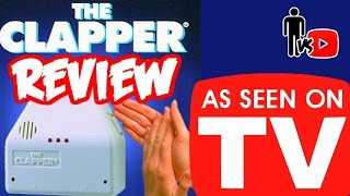 the clapper as seen on tv product review man vs youtube 17