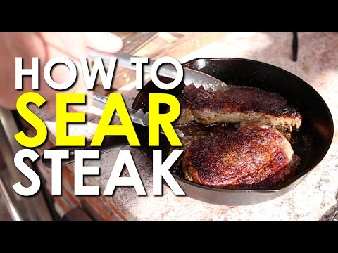 How to Sear Steak | The Art of Manliness