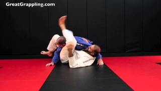 Side Control Submission Triangle from Bottom Side Control
