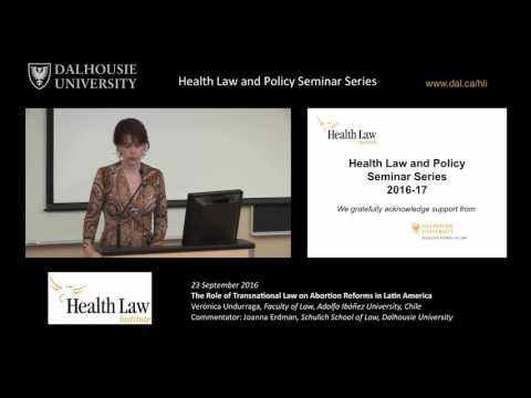 The Role of Transnational Law on Abortion Reforms