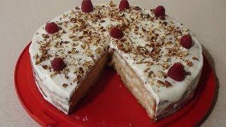 Яблочный торт. Шарлотка со сметанным кремом. Вкуснейший рецепт