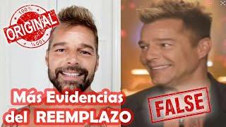 Más Evidencias de que Ricky Martin fue REMPLAZADO por un DOBLE