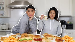 Fast Food Challenge with my Sister LOL