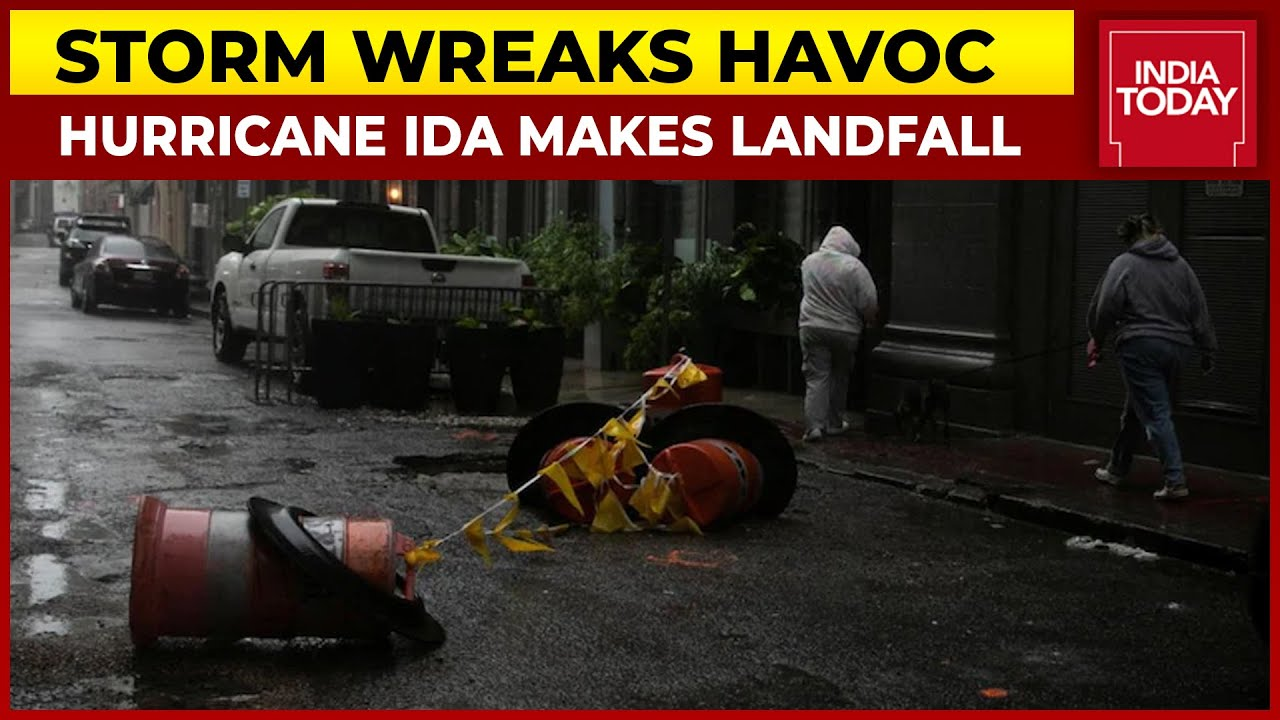 Download Hurricane Ida Makes Landfall In Louisiana, One Of The Powerful Storm Ever Hit US | India Today