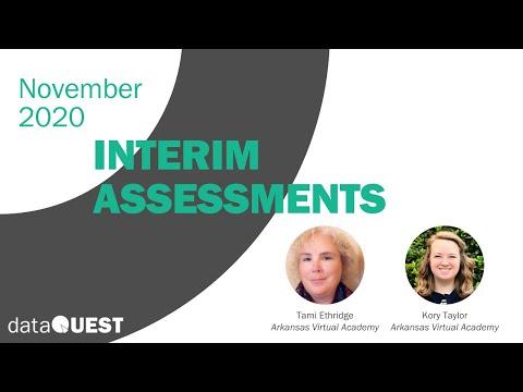 DataQUEST: Interim Assessments – Arkansas Virtual Academy