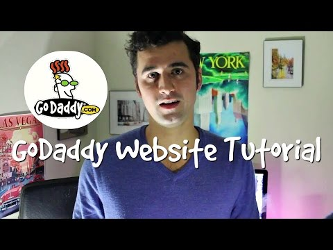 How To Make a WordPress Website with GoDaddy - 2017