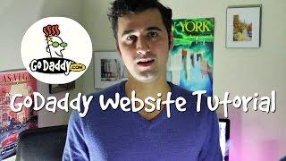 كيفية جعل موقع على شبكة الانترنت وورد مع GoDaddy